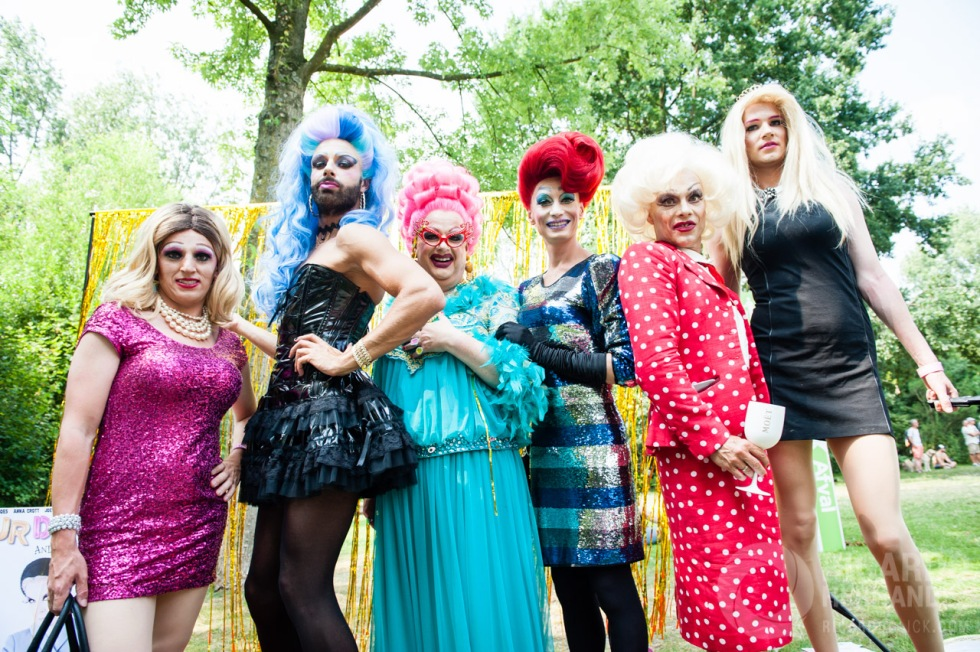 EuroPride 2016 starts with Pink Saturday in Amsterdam, The Nethe