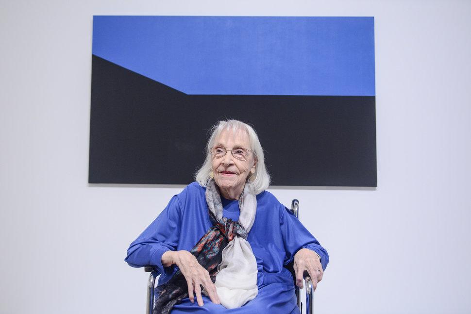 How 101-Year-Old Artist Carmen Herrera Handles Sexist DoubleStandards