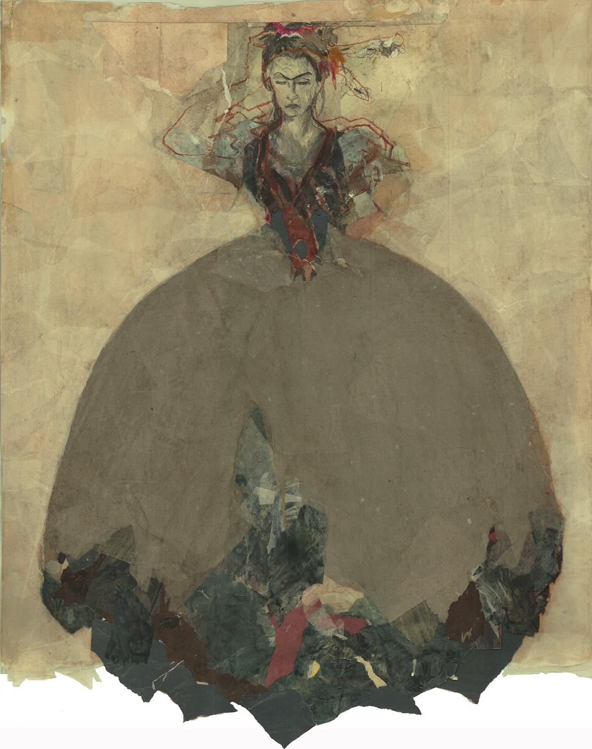 Ute Rathmann: The reincarnation of Klimt, Shiele and Toulouse-Lautrec