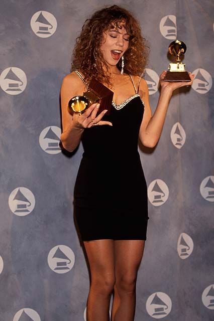 mariah-carey-at-the-1991-grammy-awards