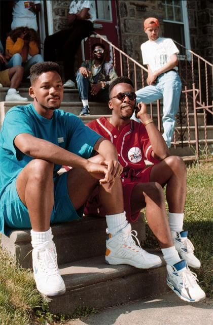 the-fresh-prince-jazzy-jeff-on-the-set-of-summertime-music-video-1991