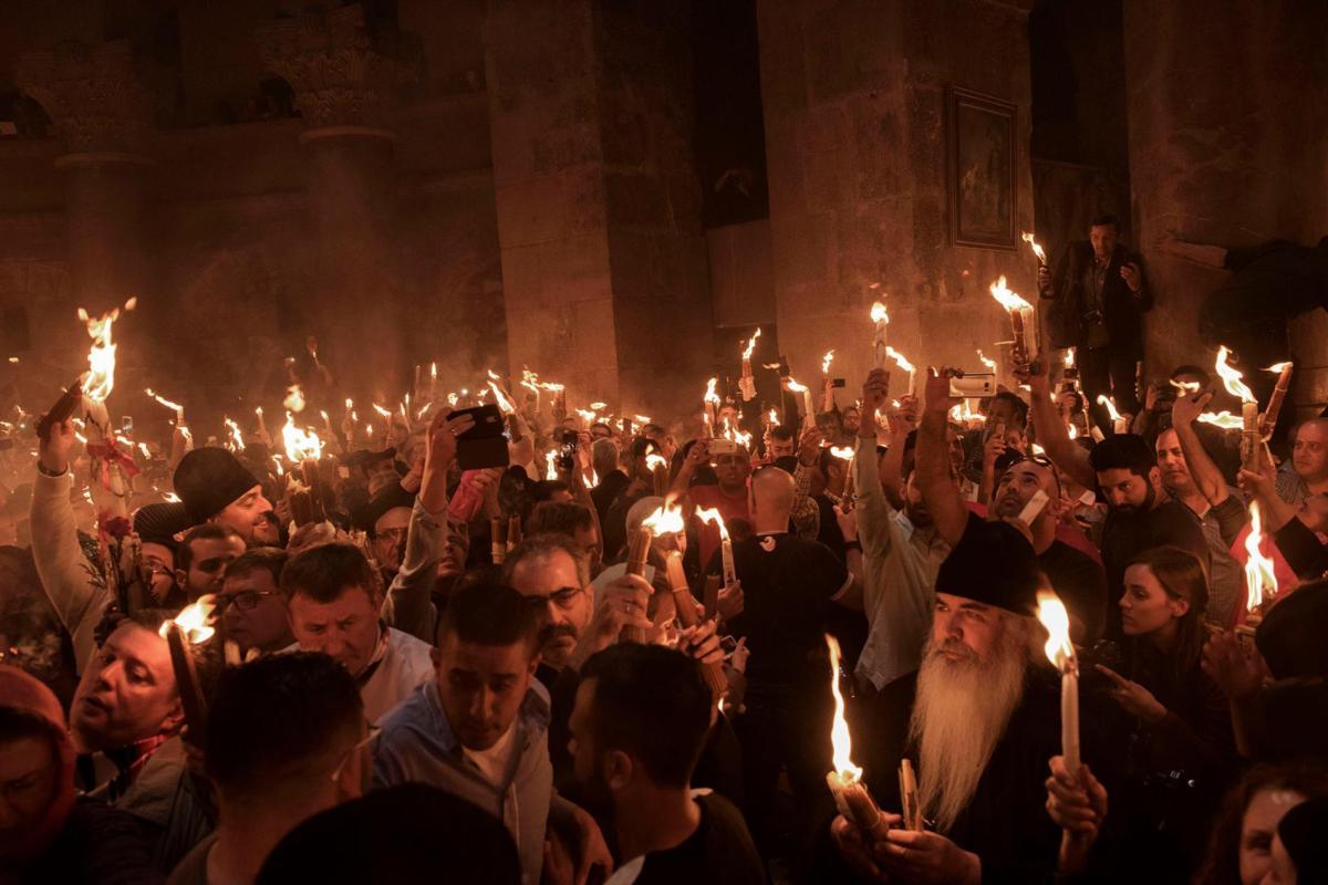 Celebrating Easter inJerusalem